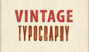 Estética vintage. Lo último en rótulos para negocios